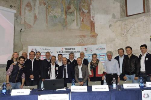Conferenza stampa 3° Trofeo Valli bresciane 2017